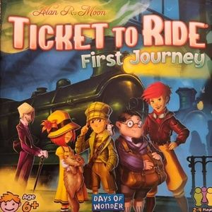 Ticket to Ride First Journey Board Game Kids